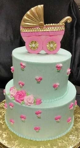 Stroller Cake