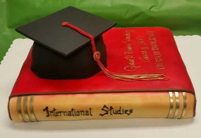 International Studies Cake
