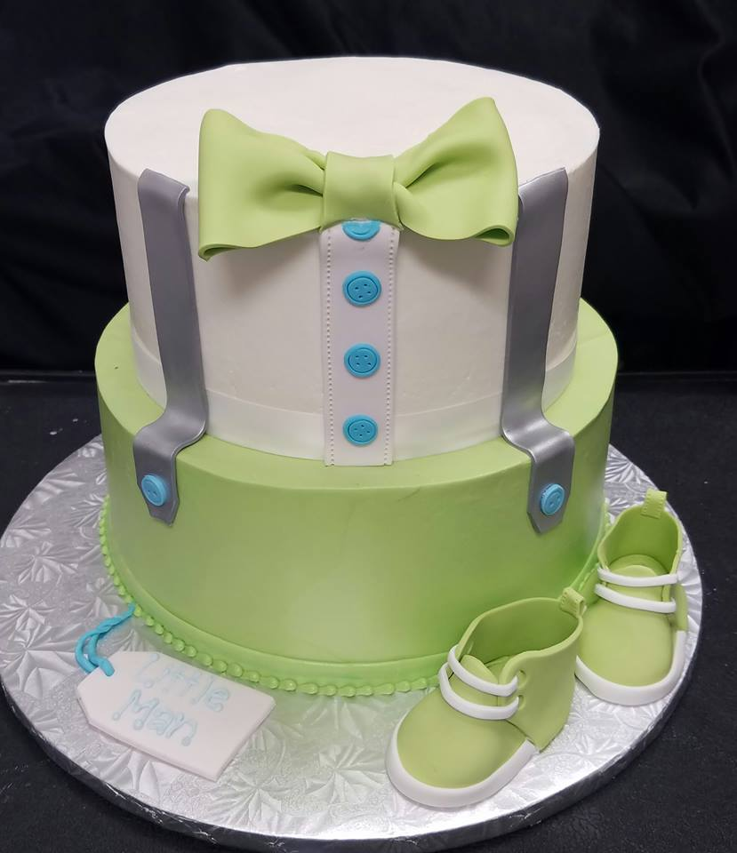 Little Man Green Cake