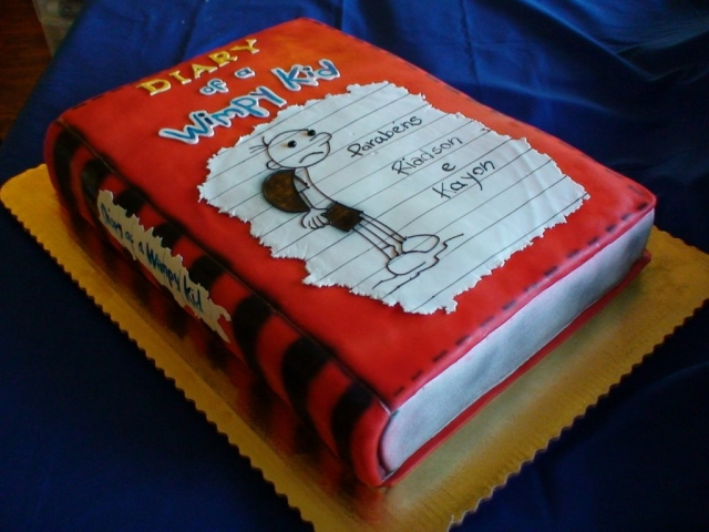 Diary of a Wimpy Kid Cake