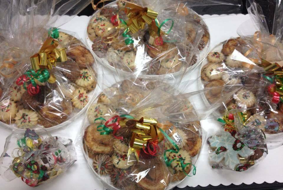 Chirstmas Cookie Trays
